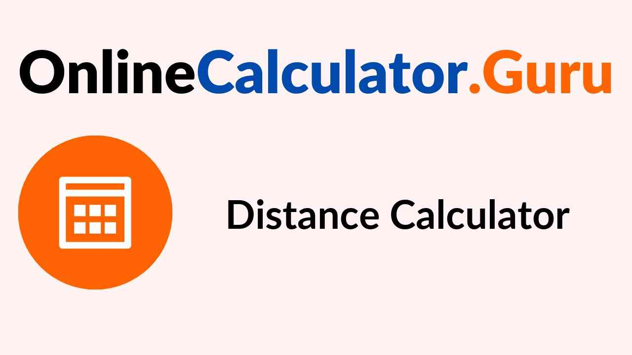 Distance Calculator